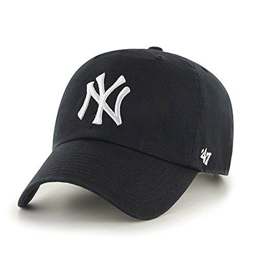 47 MLB New York Yankees - Gorras de béisbol, Unisex, Color Negro.