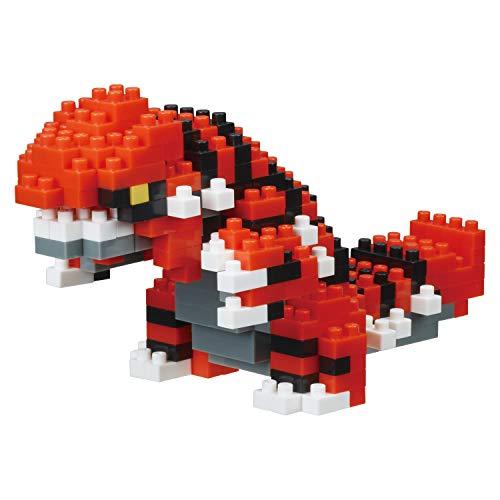 nanoblock - Groudon [Pokémon], nanoblock Pokémon Series Building Kit