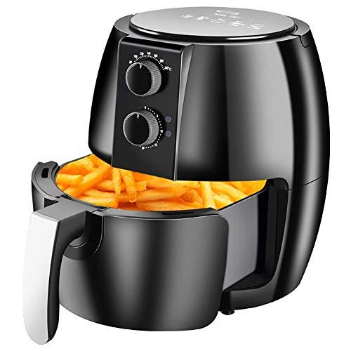 QSCVDEA Air Fryer, Household Multi-Function Large-Capacity Healthy Sootless Fryer Deep Frying Pan Air Fryer