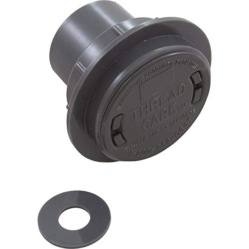 Learn More About Zodiac Return Fitting/Inlet, ThreadCare, 1.5 and 1, Dk Gry