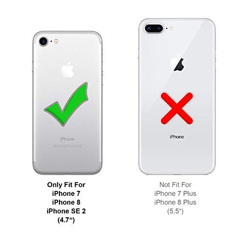 Conie Handyhülle für iPhone 7 – Bookstyle aus PU Leder - 3