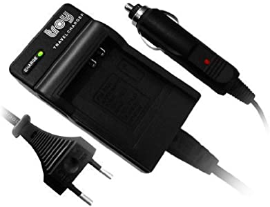 Troy Charger and Car Charger for Fujifilm NP40 Suitable for Finepix F4...