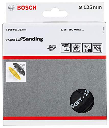 Bosch Professional Multi-Hole Schuurpad (Ø 125 mm, zacht, klit, accessoire excenterschuurmachine)