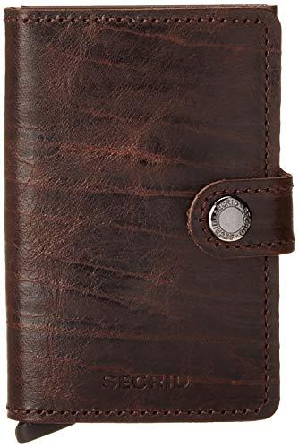 Portafogli Secrid mini-wallets Crisple colore Ambra