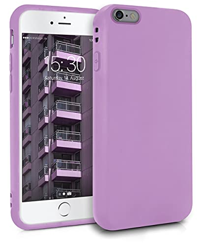 MyGadget Funda para Apple iPhone 6 Plus   6s Plus en Silicona TPU - Carcasa Slim & Flexible - Case Resistente Antigolpes y Anti choques - Protectora - Lila