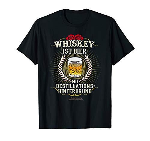 Whiskey ist Bier | Geschenkidee | witziger Spruch