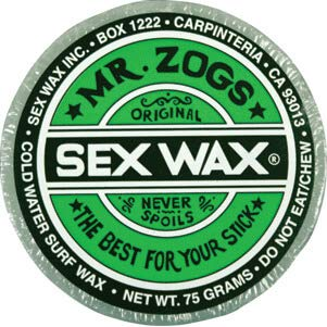 Sex Wax Original Assorted Colors Cold Water Surf Wax