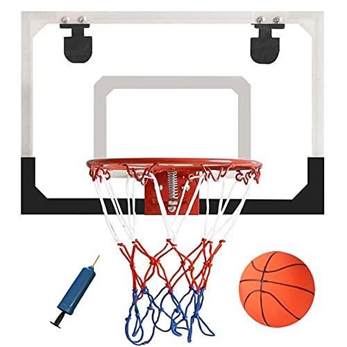NXLWXN Mini Canasta Baloncesto Montado Pared para Hogar/Oficina, Juegos Juguete para Colgar Puerta Regalos Adolescentes Adultos Tablero Aire Libre