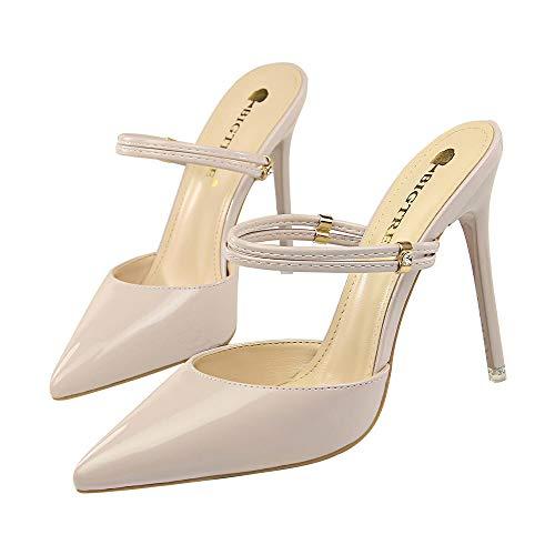 Sandalias de tacón Alto para Mujer Zapatillas Dos Formas de Vestir Sexy...