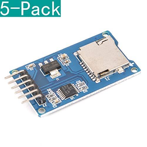 Youmile 5 Pack Micro SD Storage Board Mciro SD TF Card Memory Shield Module SPI For Arduino