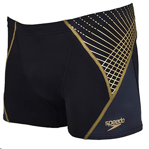 Speedo Mens Endurance Training Swimming Trunks - 40 Black/Gold