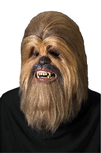 Luxury Star Wars Chewbacca mask, adult size (máscara/careta)