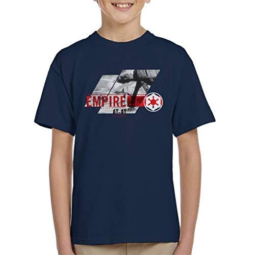 Star Wars Empire ATAT Crush The Rebellion Kid's T-Shirt