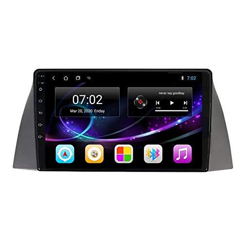 2 DIN Radio De Coche, Autoradio con Bluetooth Manos Libres 9' Pantalla Táctil/Mirroring De La Pantalla/FM Tuner/SD Apoyo MP5 Navegación GPS, para Chery Tiggo T11 2005-2013,Octa Core,4G WiFi 2+32