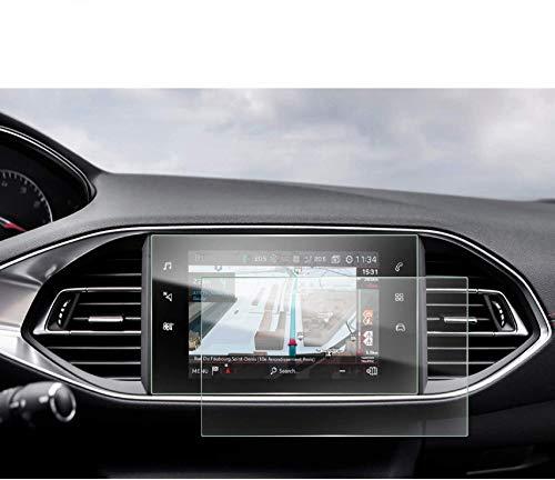[2 Stück] Peugeot 308 SW GT 9,7 Zoll Navigation Schutzfolie - LFOTPP Transparenter PET Folie