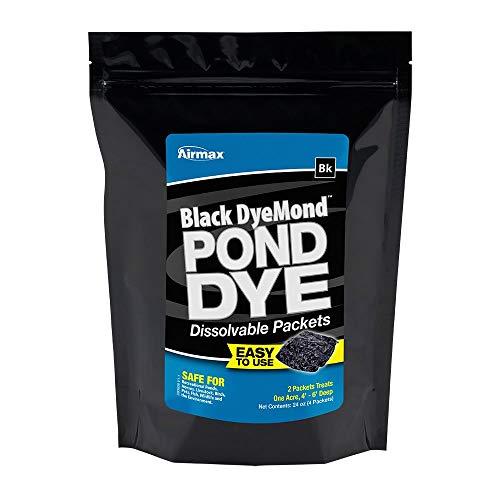 AIRMAX Black DyeMond Pond Dye WSP - 4 Pack