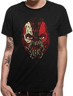 Batman Unisex Adults Dark Knight Bane Face T-Shirt
