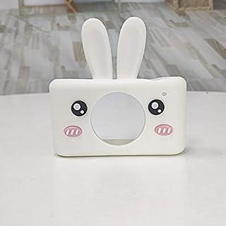 Cámara para niños 2.0 Pulgadas 8MP HD Video Cámaras Digitales Cubierta Suave Niños CAM Videocámara Navidad Regalos de cumpleaños para niños niñas (Conejo Blanco)