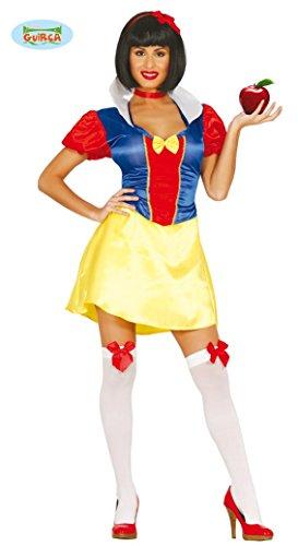 sexy Schneewittchen Karneval Fasching Party Kostüm für Damen Märchen Gr. M - L, Größe:L
