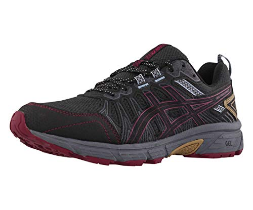 ASICS Women's Gel-Venture 7 Trail Running Shoes, 8, Graphite Grey/Dried Berry