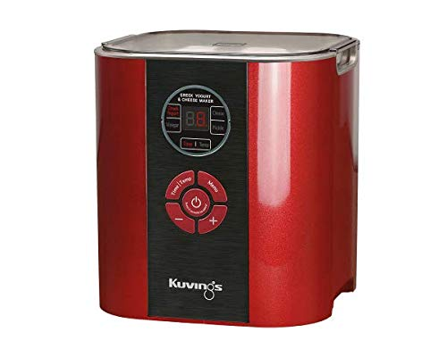 Kuvings Power fermenter rosso KCG621 - Importazione manuale in inglese