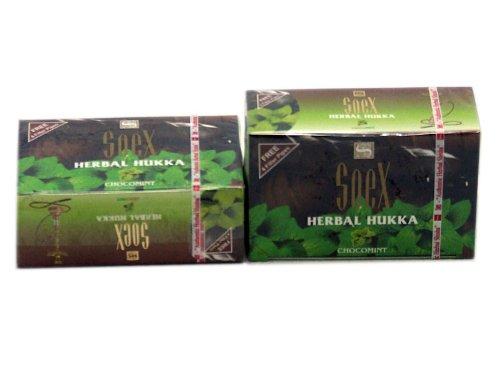 SOEX 50 g Kräuter-Shisha, Chocomint