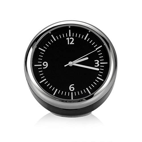 ZHANGJ Mini Auto Digitaluhr Auto Thermometer Hygrometer Dekoration Dekoration Armaturenbrett Uhr Autoteile, Quarzuhr