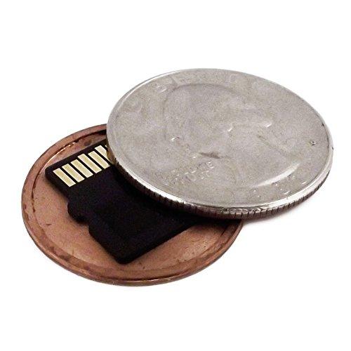 US Mint Quarter - Micro SD Card Covert Coin - Secret Compartment US Quarter