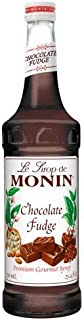 Monin Chocolate Fudge Syrup, 750 ml by Monin