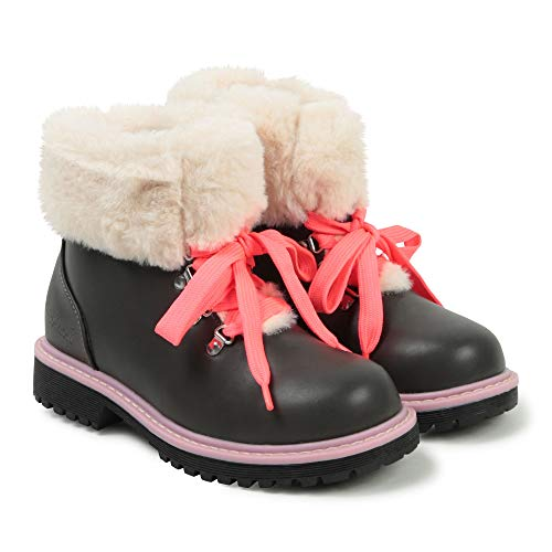 BOTTINES BILLIEBLUSH ENFANT DARK GREY 31