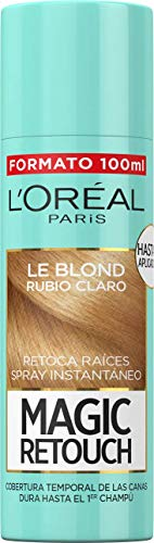 LOréal Paris Magic Retouch Spray Retoca Raíces Rubio Claro 100 ml