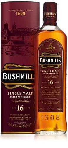 Bushmills Whiskey 16 Jahre 0,7 Liter