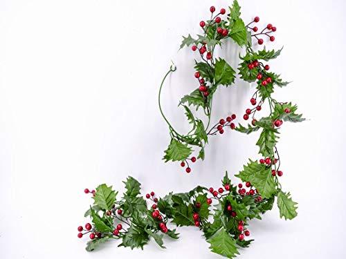 Gerimport Guirnalda muérdago Decorativa de Navidad