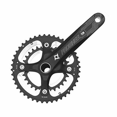 PROWHEEL - 15403 : Platos y bielas BTT MTB paseo 2x10 170mm 30/44 dientes bici bicicleta