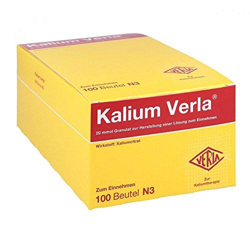 Kalium Verla, 100 St. Granulat