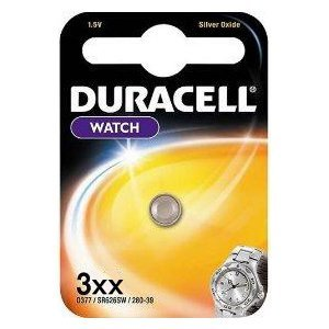 Duracell 389 / 390 SR1130W Silver Oxide Battery