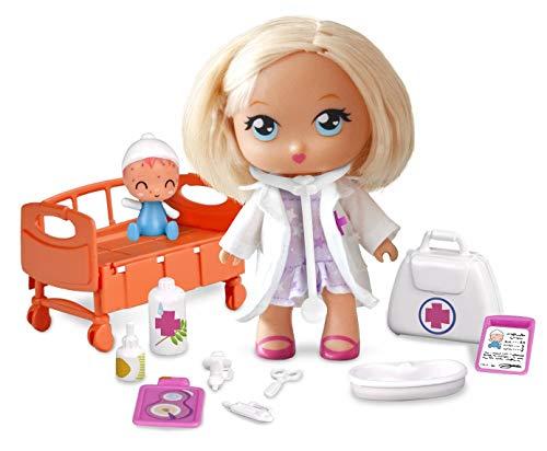 Barriguitas- Doctora en la Clínica, con 1 muñeca y 1 bebé paciente (Famosa 700014252)