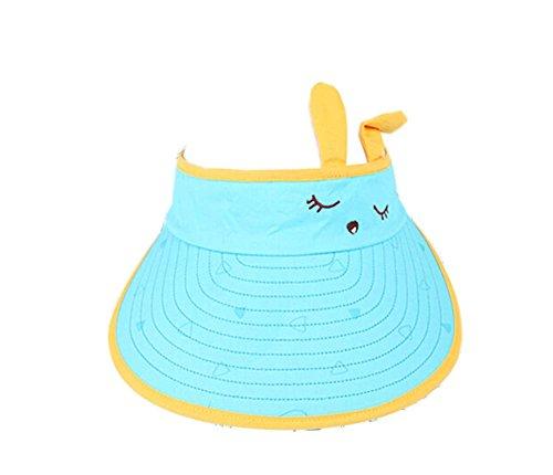 Chapeau de protection contre les enfants pour enfants Lovely Big Cap sans top 2-4 ans (bleu)