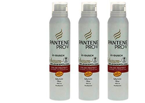 Pantene Pro-V, in-dusch Schaum-Pflegespülung Color protect,180 ml (3er Pack)
