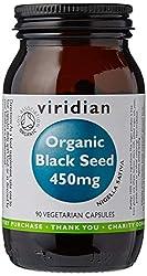 Viridian Organic Black Seed 90 Caps