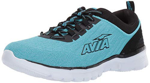 Avia Women's Avi-Factor Sneaker, Blue Radiance/Black/White,...