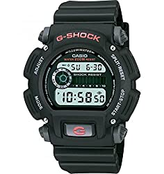 Casio Men's 'G-Shock' Quartz Resin Sport Watch - Water resistant to 200 m (660 ft): In general, suitable for professional marine activity and serious surface water sports, but not scuba diving