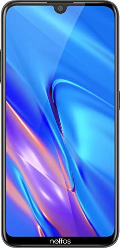 Neffos C9 Max Dual-SIM Smartphone (15,5 cm (6,09 Zoll) HD+ Display, 32 GB interner Speicher, 13 MP Kamera, Android 9.0) grau