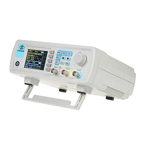 信号発生器 デジタルデュアルチャンネル D D S 高精度周波数計 ファンクションジェネレータ 任 意 波 形信号発生器 JDS6600-60M 60MHZ