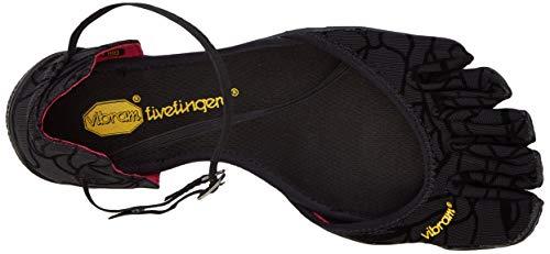 Vibram FiveFingers VI-s, Chaussures Multisport Outdoor Femme, Noir (Black), 39 EU