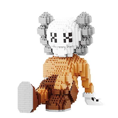 RSVT KA-WS Model Mini Block Block 3D PUZZAJE, Conjunto Creativa CONSTRUCCIÓN DE CONSTRUCCIÓN DE LADRES DE LADRES para NIÑOS NIÑAS,D