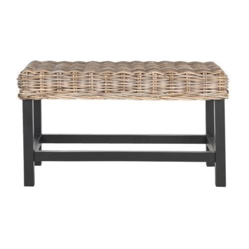 Awesome Rattan Benches Amazon Com Short Links Chair Design For Home Short Linksinfo