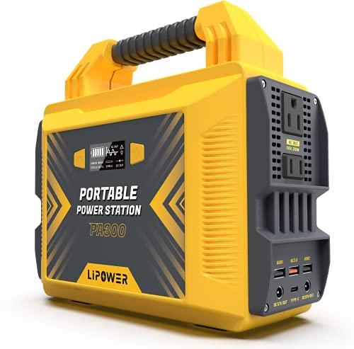 LIPOWER 300W Portable Power Station