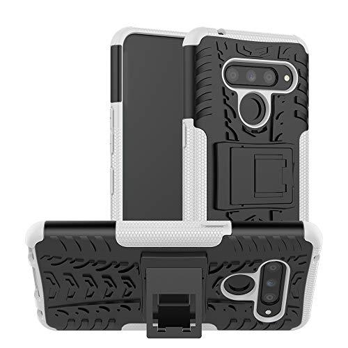 MDYHMC YXCY AYS - Carcasa para LG V50 ThinQ, con soporte, TPU, color negro
