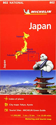 Mapa National Japón (Mapas National Michelin)
